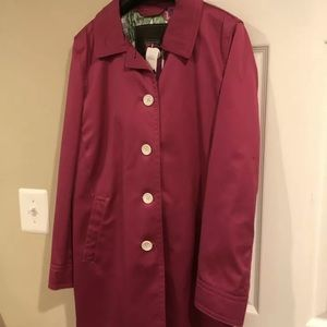 NWT ladies COACH jacket small pink